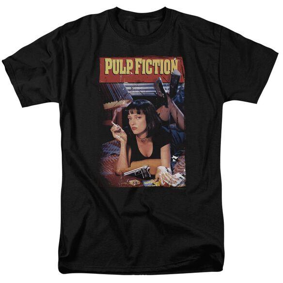 Pulp Fiction Poster Short Sleeve Adult T-Shirt
