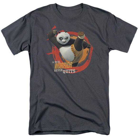 Kung Fu Panda Real Warrior Short Sleeve Adult T-Shirt
