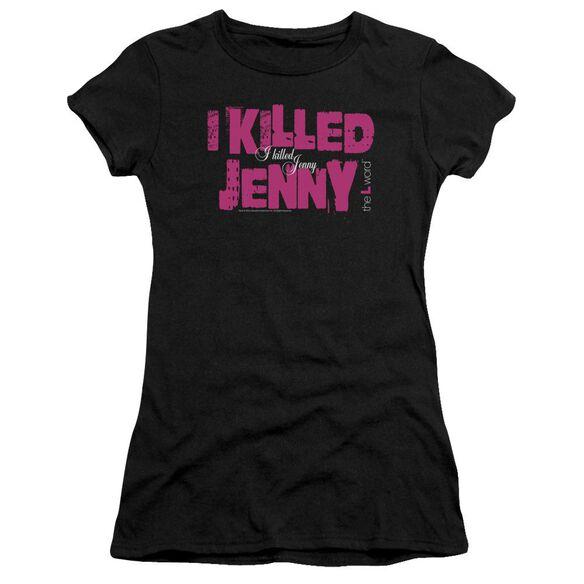 The L Word I Killed Jenny Premium Bella Junior Sheer Jersey
