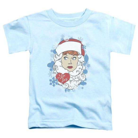 I Love Lucy Beard Flakes Short Sleeve Toddler Tee Light Blue T-Shirt