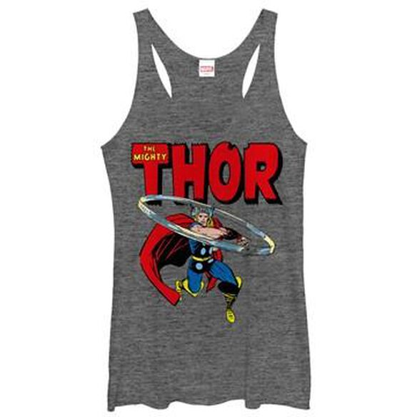 Thor Mighty Twirl Tank Top Juniors T-Shirt