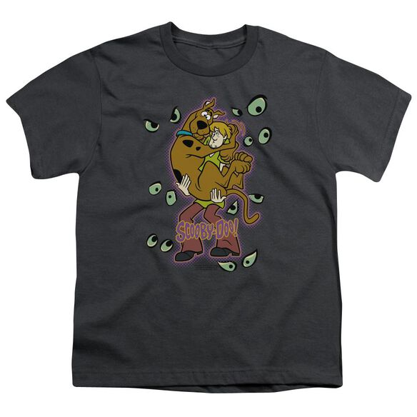 Scooby Doo Being Watched Short Sleeve Youth T-Shirt