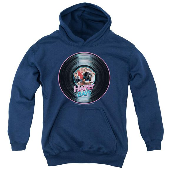 Happy Days On The Record Youth Pull Over Hoodie