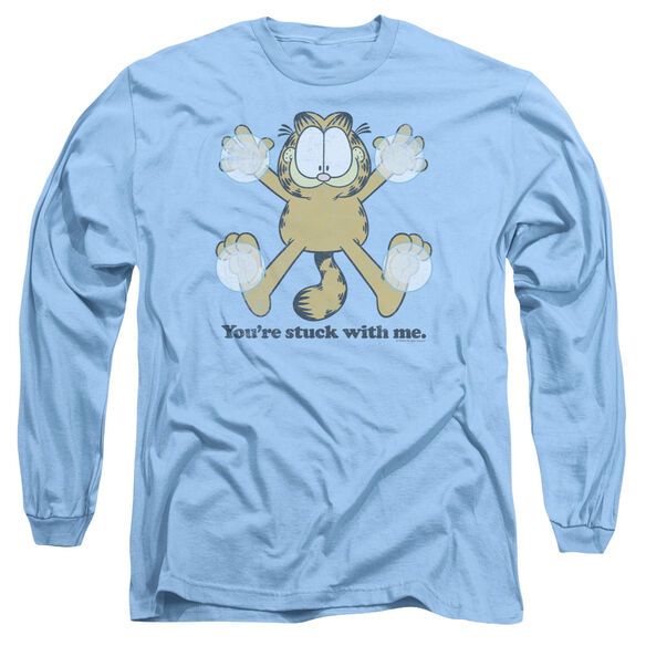 GARFIELD STUCK - L/S ADULT 18/1 - T-Shirt