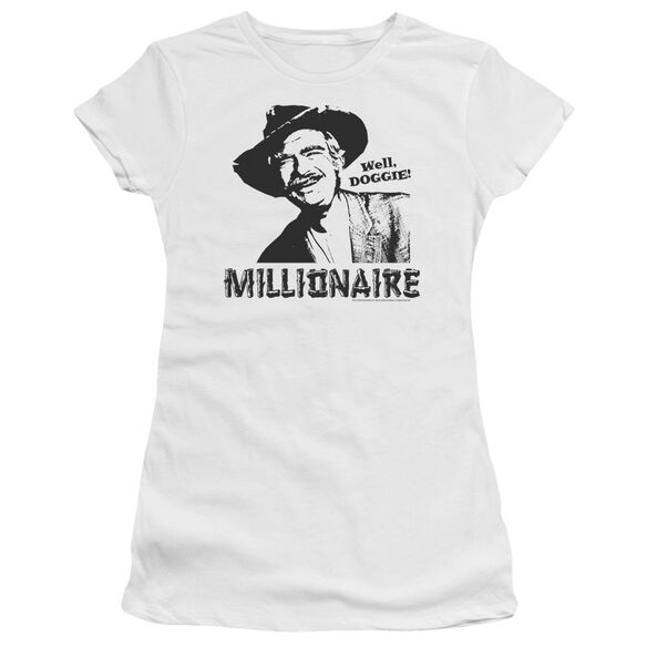 BEVERLY HILLBILLIES MILLIONAIRE - S/S JUNIOR SHEER - WHITE T-Shirt