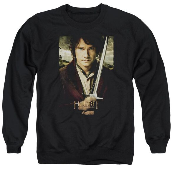 The Hobbit Baggins Poster Adult Crewneck Sweatshirt