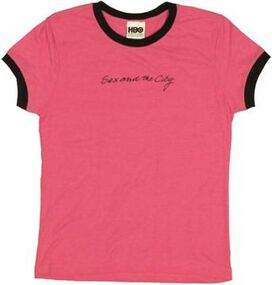 Sex and the City Name Baby Tee