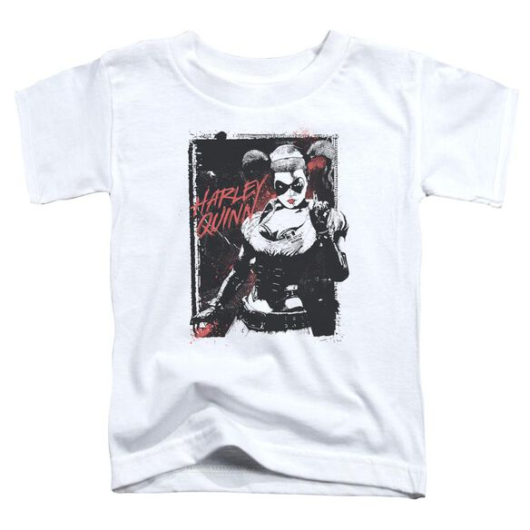 Batman House Call Short Sleeve Toddler Tee White T-Shirt