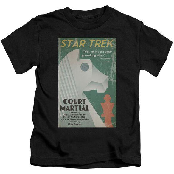 Star Trek Tos Episode 20 Short Sleeve Juvenile Black T-Shirt