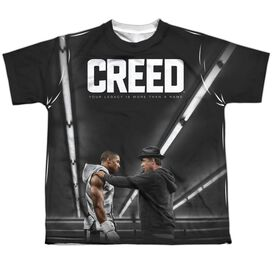 Creed Poster Short Sleeve Youth Poly Crew T-Shirt