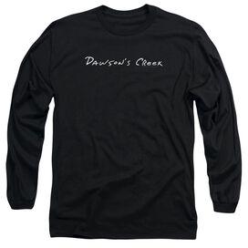 Dawsons Creek Dawsons Logo Long Sleeve Adult T-Shirt