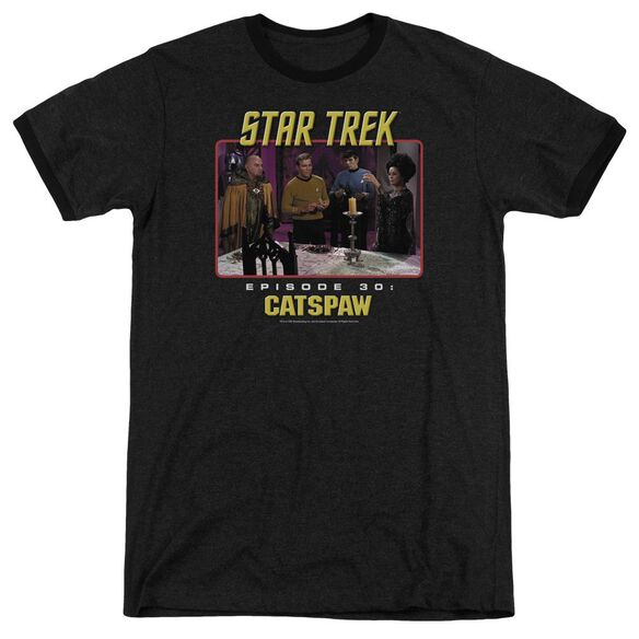 Star Trek Original Cats Paw Adult Heather Ringer