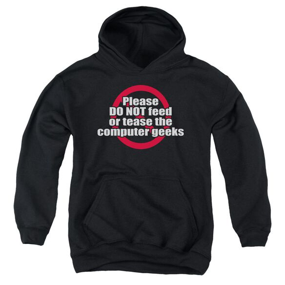 Computer Geeks Youth Pull Over Hoodie