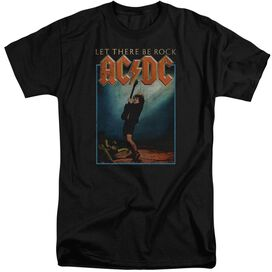 Acdc Let There Be Rock Short Sleeve Adult Tall T-Shirt