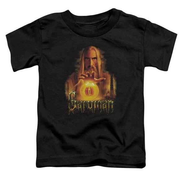 Lor Saruman Short Sleeve Toddler Tee Black Md T-Shirt