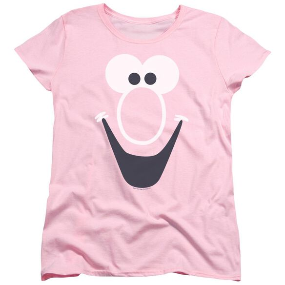 Mr Bubble Bubble Face Short Sleeve Women's Tee T-Shirt