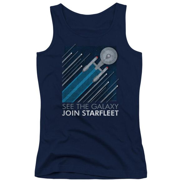 Star Trek Starfleet Recruitment Poster Juniors Tank Top