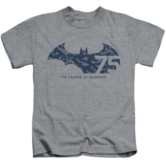 BATMAN 75 YEAR COLLAGE-S/S JUVENILE T-Shirt