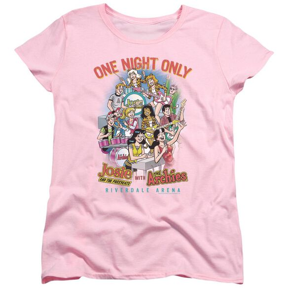 Archie Comics One Night Only Short Sleeve Women's Tee T-Shirt
