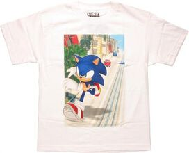 Sonic the Hedgehog Running Road Youth T-Shirt