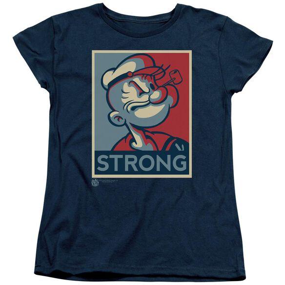 Popeye Strong Short Sleeve Womens Tee T-Shirt