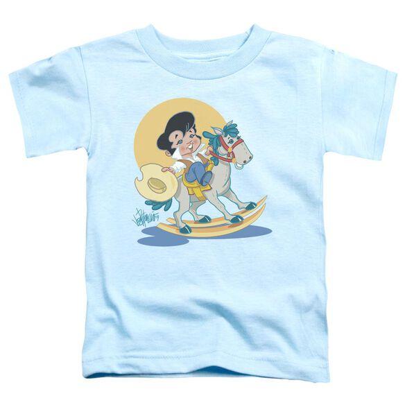 Elvis Yip E Short Sleeve Toddler Tee Light Blue Lg T-Shirt
