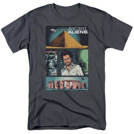 Ancient Aliens Aliens Comic Page Short Sleeve Adult T-Shirt