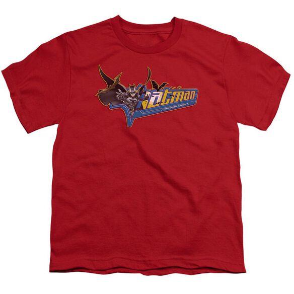 Dark Knight Patch Short Sleeve Youth T-Shirt