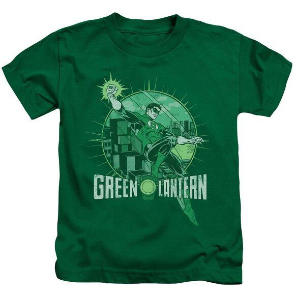 Dc City Power Short Sleeve Juvenile Kelly Green T-Shirt