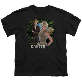 Sg1 Samantha Carter Short Sleeve Youth T-Shirt