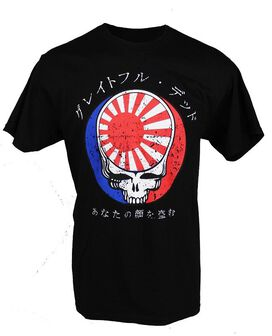Grateful Dead Steal Face Kanji T-Shirt