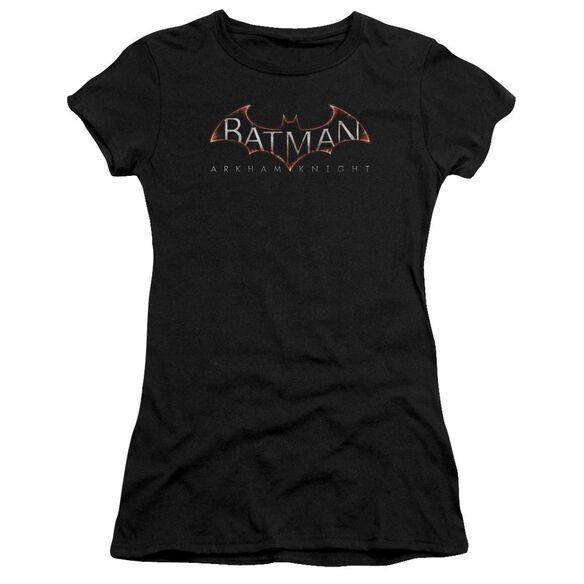 Batman Arkham Knight Logo Short Sleeve Junior Sheer T-Shirt