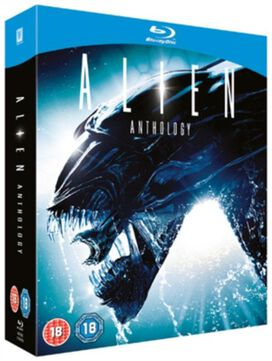 Alien Anthology 4-Film Collection [Blu-ray]