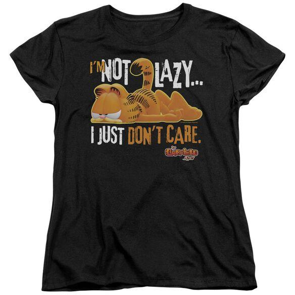 Garfield Not Lazy Short Sleeve Womens Tee T-Shirt