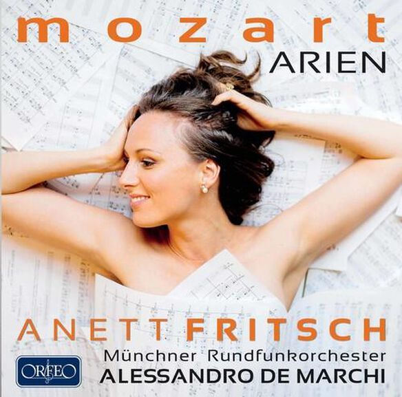 Wolfgang Amadeus Mozart: Arien