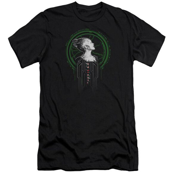 Star Trek Borg Queen Hbo Short Sleeve Adult T-Shirt