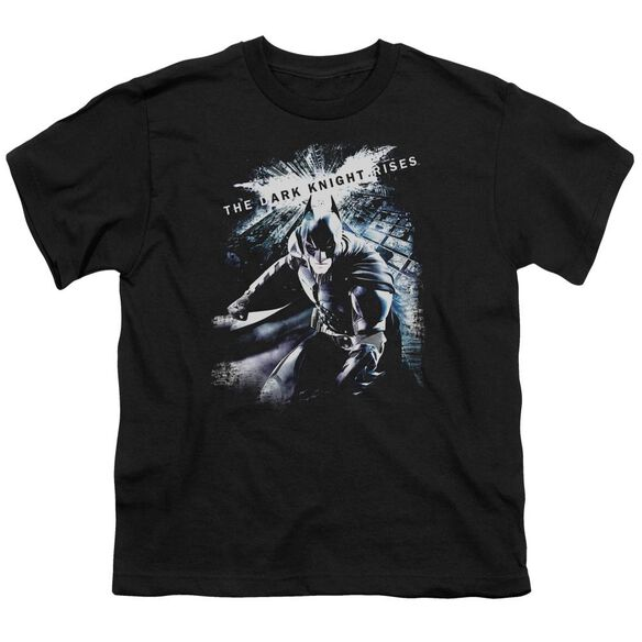 Dark Knight Rises More Than A Man Short Sleeve Youth T-Shirt