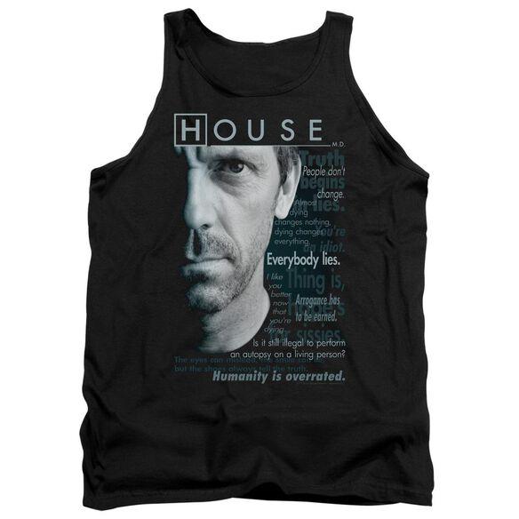 House Houseisms Adult Tank