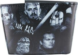 Suicide Squad Movie Scene Metal Target Wallet