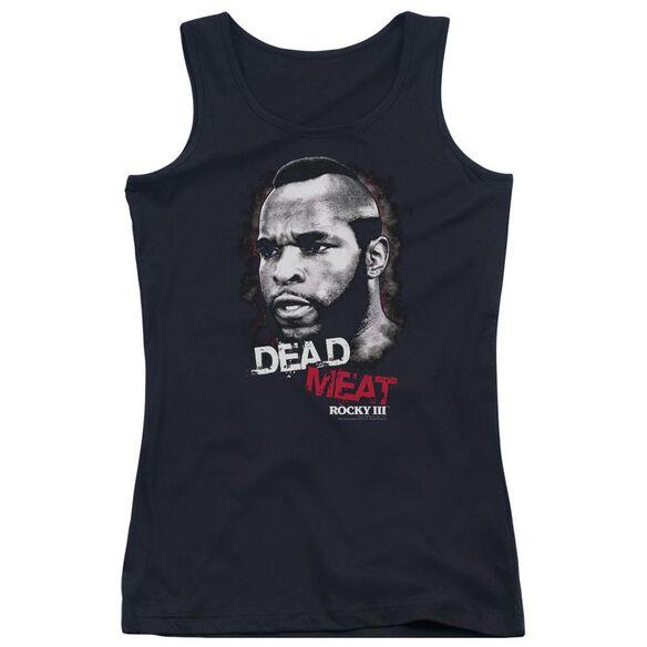 Rocky Iii Dead Meat Juniors Tank Top