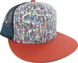 Where's Waldo Find Scene Trucker Snapback Hat