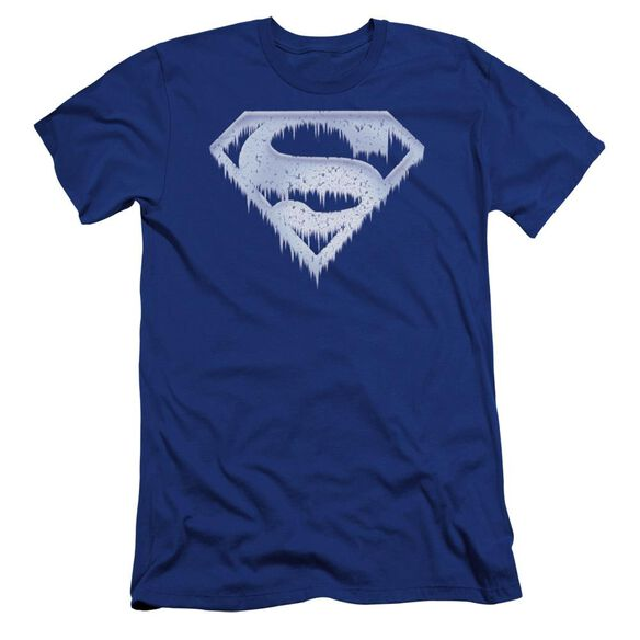 Superman Ice And Snow Shield Premuim Canvas Adult Slim Fit Royal