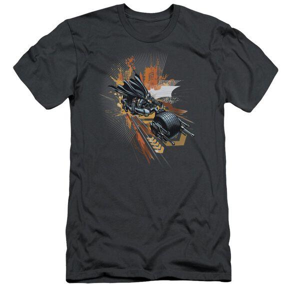 Dark Knight Rises Batpod Short Sleeve Adult T-Shirt