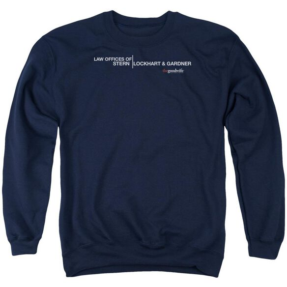 The Good Wife Law Offices Adult Crewneck Sweatshirt