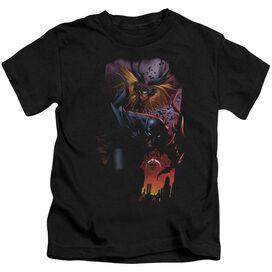 Batman Batman & Robin #1 Short Sleeve Juvenile Black T-Shirt