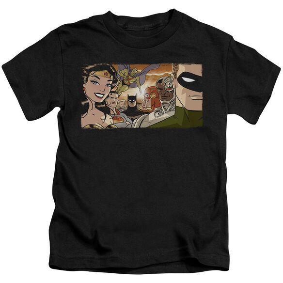 Jla Cinematic League Short Sleeve Juvenile T-Shirt