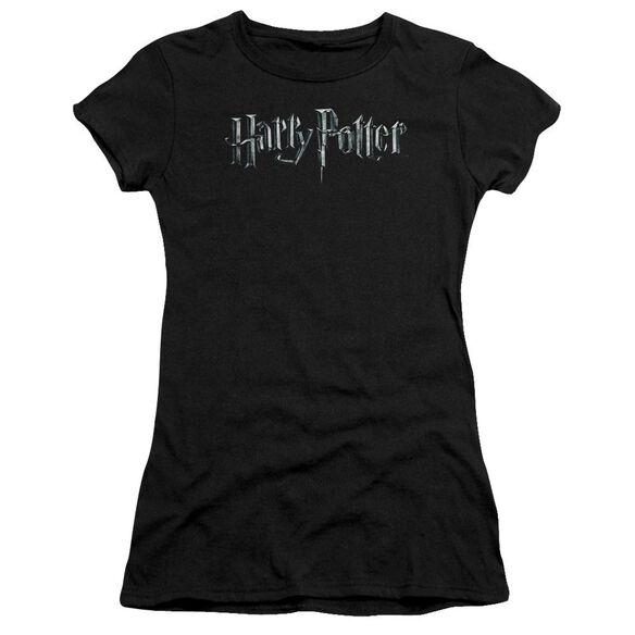 Harry Potter Logo Hbo Short Sleeve Junior Sheer T-Shirt