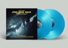 City of Prague Philharmonic Orchestra - Music From Star Wars Saga [Exclusive 2LP Light Saber Blue Vinyl]