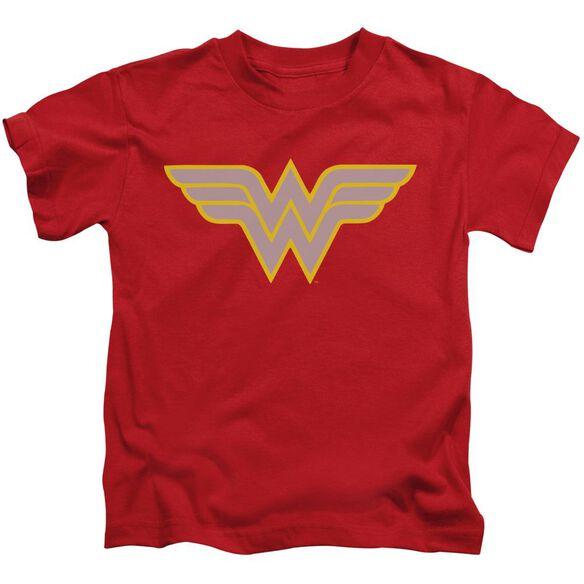 Dc Ww Logo Short Sleeve Juvenile T-Shirt