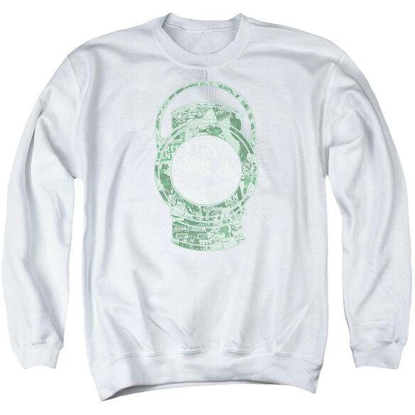 Dc Lantern Cover Adult Crewneck Sweatshirt